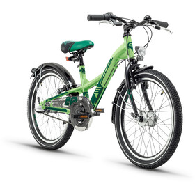 s'cool XXlite 20 3-S Juniorcykel Barn steel grön